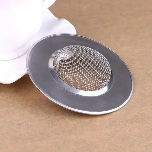 FREE SHIPPING Stainless Steel Filter For Bathroom Kitchen Sink Drain Outlet Anti Clogging Anti