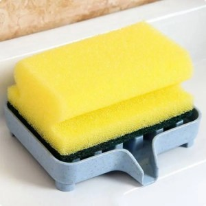 FREE SHIPPING Creative Soap Holder With Drain Plastic Box bathroom