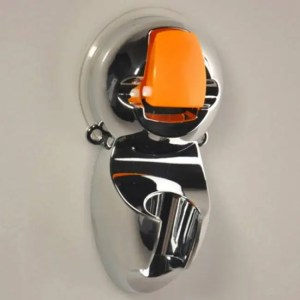 FREE SHIPPING New Adjustable Aluminum Sprinkler Base Bathroom Shower Head Holder Suction Cup [tag]