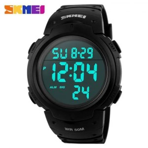 FREE SHIPPING Outdoor Sports Digital Waterproof   Watch For Men 50M