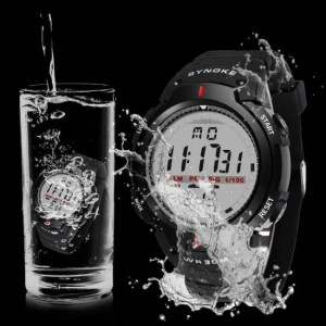 FREE SHIPPING 30M Waterproof LED Digital Watch Men Outdoor 50M