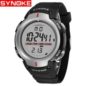 FREE SHIPPING Waterproof Digital Fashionable Sports Watches for Men with LED Lights 50M