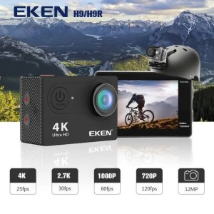 Electronic Gadgets EKEN H9R / H9 Action Camera Ultra HD 4K / 25fps WiFi 2.0″ 170D Underwater Waterproof Helmet Video Recording Cameras Sport Cam 170D
