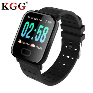 FREE SHIPPING SFPW-2 Fitness Smart Pedometer Health Monitor Pulsometer BP Bluetooth Bracelet Watch 50M