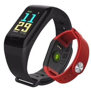 FREE SHIPPING SFPW-1 Fitness Smart Pedometer Health Monitor Pulsometer BP Bluetooth Bracelet Watch 50M