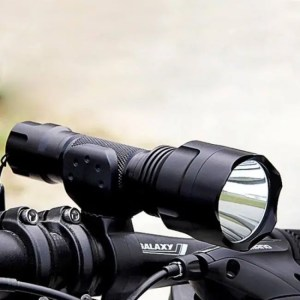 Electronic Gadgets Flashlight with Rechargeable Battery Warterproof Design Led Hunting Lanterna Lamp BicycleAccessory