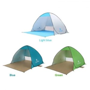 FREE SHIPPING Automatic Outdoor  Camping Tent Beach For 2 Persons Anti UV Awning Tents Sunshelter Anti UV