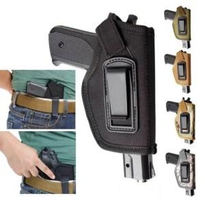 FREE SHIPPING Concealed Carry Gun Pistol Holster Fit GLOCK 17 19 22 23 32 33 Ruger Nylon Holster Adjustable