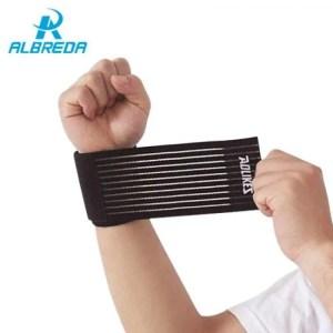 FREE SHIPPING Elastic Sport Bandage Wristband hand Gym Support wrist brace Wrap Bandage