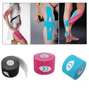 FREE SHIPPING Kinesiology Athletic Sport Recovery Strapping Gym Fitness Tape Arm