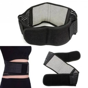 FREE SHIPPING Tourmaline Self-heating Magnetic Therapy Waist Support Belt Belt