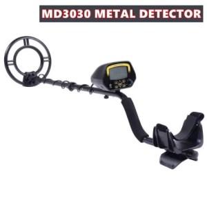 Treasures Metal Detector MD3030 Pinpoint security underground gold digger treasure hunter dig