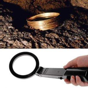 Treasures Portable Hand-Held Folding Metal Detector High Sensitivity Multifunctional Test Detector