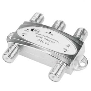 FREE SHIPPING 4×1 DiSEqC 2.0 Satellite Switch 20