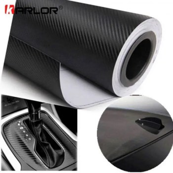 FREE SHIPPING 3D 3M Auto Car Carbon Fiber Vinyl Film Wrap Sheet Roll (6″ W x 50″ L ) 3D