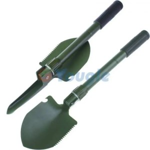 FREE SHIPPING Mini Multi-function Folding Shovel Survival Trowel Dibble Pick Camping Outdoor Garden Tool Camping