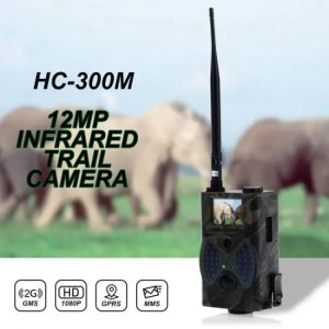 FREE SHIPPING HC300M 12MP 940nm Night Vision Hunting Camera MMS Infrared Hunting Trail Camera Mms Gsm GPRS 2G Trap Game Camera Remote Control camera