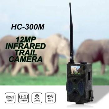 FREE SHIPPING HC300M 12MP 940nm Night Vision Hunting Camera MMS Infrared Hunting Trail Camera Mms Gsm GPRS 2G Trap Game Camera Remote Control camera
