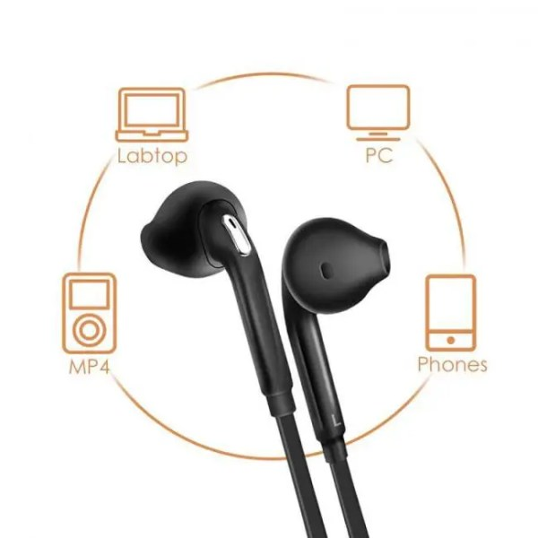 Hear Headphones Music Earbuds Stereo Gaming Earphone for Phone Xiaomi with Microphone for iPhone 5s iPhone 6 Computer Free shipping