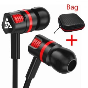 Hear Musttrue Professional Earphone Super Bass Headset with Microphone Stereo Earbuds for Mobile Phone Samsung Xiaomi  fone de ouvido Free shipping