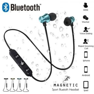 Hear Magnetic attraction Bluetooth Earphone Headset waterproof sports 4.2 with Charging Cable Young Build-in Mic Bluetooth Headphone Free shipping