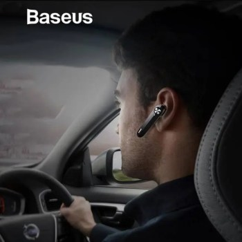 FREE SHIPPING Baseus A01 Wireless Bluetooth Earphone Mini Business Portable Earphones With Microphone For xiaomi iPhone Driving Fone De Ouvido Free shipping