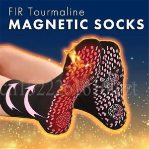 FREE SHIPPING Tourmaline Self-Heating Magnetic Socks Therapy Comfortable Winter Warm Massage Comfortable