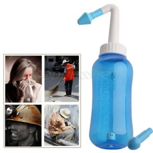 FREE SHIPPING Neti Pot Nose Wash System Sinus Allergies Relief Nasal Pressure Rinse Allergies