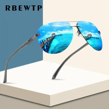 FREE SHIPPING RBEWTP Alloy Frame Classic Driver Sunglasses Polarized Coating Mirror Frame Eyewear aviation Sun Glasses For Women Men American