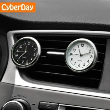 FREE SHIPPING Car Ornament Automobiles Interior Decoration Clock Auto Watch Automotive Vents Clip Air Freshener Clock In Car Accessories Gifts Accessories