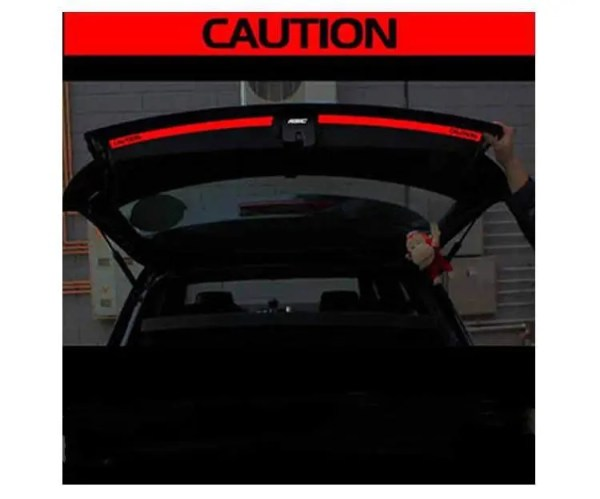 Accessories Aliauto 2 x Car accessories The Trunk Of The Car Sticker And Decal  Reflective Safety Warning Sticker For VW Golf 6 7 New Polo discount