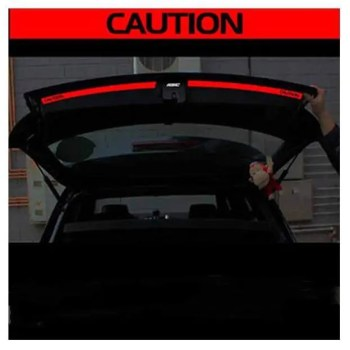 FREE SHIPPING Aliauto 2 x Car accessories The Trunk Of The Car Sticker And Decal  Reflective Safety Warning Sticker For VW Golf 6 7 New Polo discount