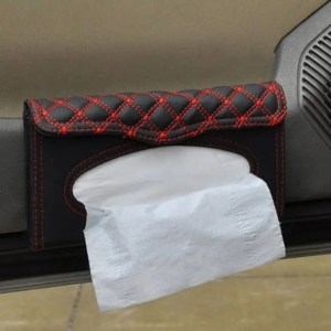 Accessories Car visor tissue box car accessories Clipboard tissue boxes Napkin Holder Auto Parts Accessories