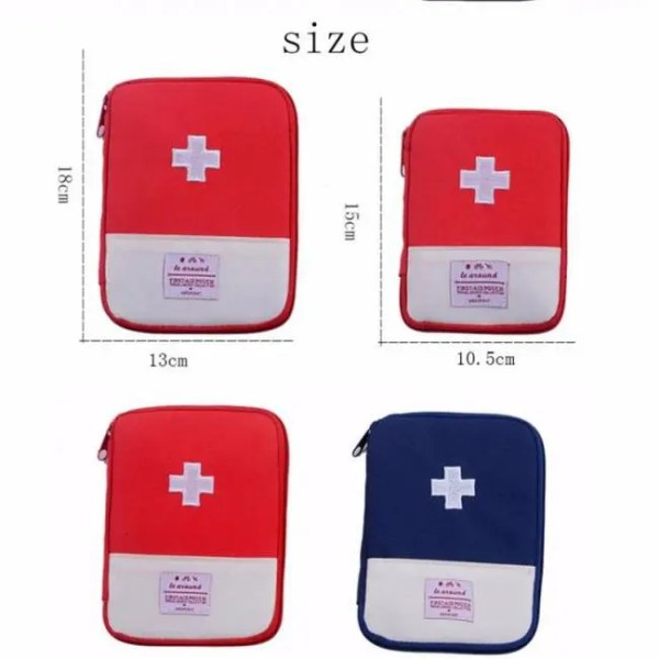 FREE SHIPPING First Aid Pouch only for Outdoor Emergency Medical Bag Medicine Drug Pill Box Home Car Survival Kit Emerge Case Small 600D Oxford Aid