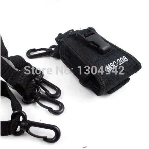 Walkie Talkie Baofeng Radio Case Holder MSC-20B Portable Pouch For Baofeng UV-5R UV-82 Kenwood Yaesu ICOM TYT Walkie Talkie Accessories 2-Pin