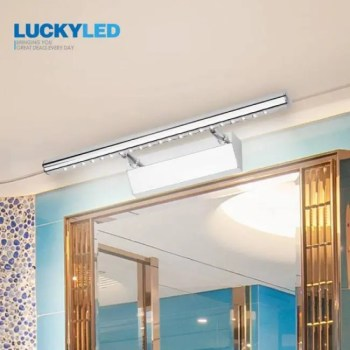 FREE SHIPPING LUCKYLED Sconce Bathroom Lighting Mirrors Light 3W 5W 7W 90-260v Stainless Steel modern Led Wall Light Lights Waterproof [tag]
