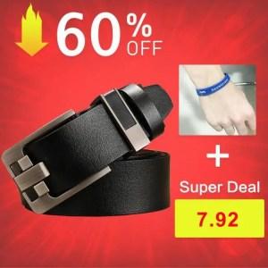FREE SHIPPING DWTS belt male leather belt men male genuine leather strap luxury pin buckle belts for men belt Cummerbunds ceinture homme Free shipping