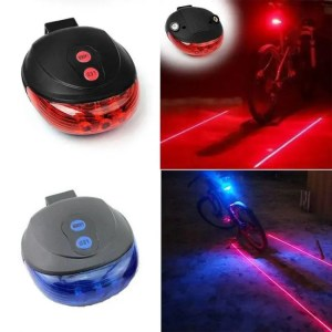 FREE SHIPPING Bicycle Tail Light (5LED+2Laser) Waterproof Cycling Bike Light 7 Cool Flash Mode Bike Rear Lights For Bike Accessories Lights bicycle