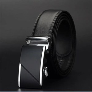 FREE SHIPPING COWATHER COW genuine Leather Belts for Men High Quality Male Brand Automatic Ratchet Buckle belt 1.25″ 35mm Wide 110-130cm long Free shipping