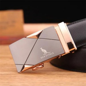 FREE SHIPPING Men's belt fashion 100% Genuine Leather mens belts for men High quality metal automatic buckles Strap male for Jeans cowboy Belt
