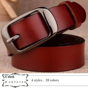 FREE SHIPPING Genuine Leather Women Belt for Women Strap Female Pin Buckle Fashion Vintage Metal Embossing belts Belt