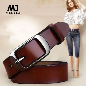 FREE SHIPPING MEDYLA Female belt Women genuine leather fashion all-match belt women's cowhide casual pants  belt Belt