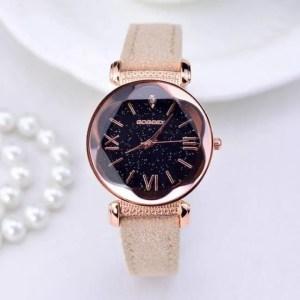 FREE SHIPPING New Fashion Gogoey Brand Rose Gold Leather Watches Women ladies casual dress quartz wristwatch reloj mujer go4417 clock