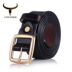 FREE SHIPPING COWATHER 2019 women belts cow genuine leather pin buckle for women newest design vintage style belt high quality original brand Belt