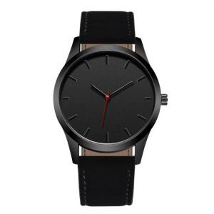 FREE SHIPPING Reloj 2018 Fashion Large Dial Military Quartz Men Watch Leather Sport watches High Quality Clock Wristwatch Relogio Masculino T4 clock