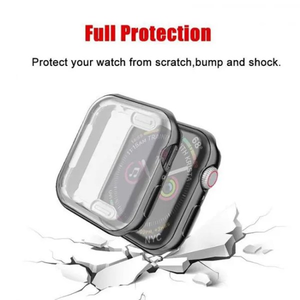 FREE SHIPPING ProBefit 360 Degree Slim Watch Cover for Apple Watch 3/2/1 42MM 38MM Case Soft Clear TPU Screen Protector for iWatch 4 44MM 40MM [tag]