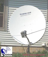 HH Mount SATELLITE dish Installation Examples HH Motor DiSEqC 1.2 USALS