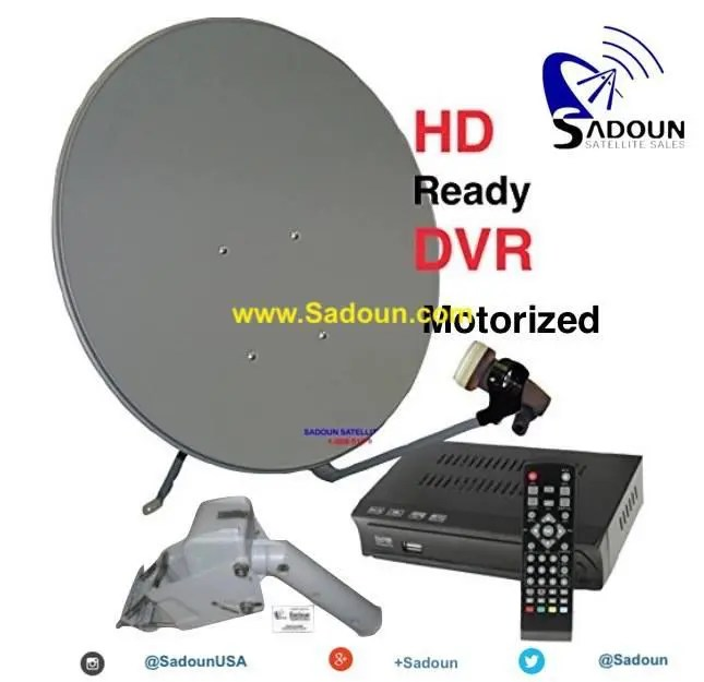 M-1 Motorized Satellite System for Free To Air KU Band channels