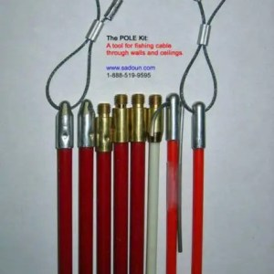 Coaxial Bergstrom POLE wire fishing cable kit Bergstrom