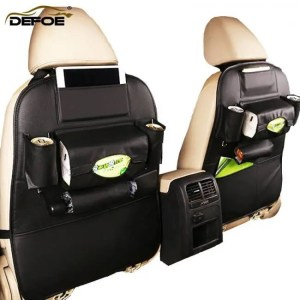 Accessories Multifunctional car seat back storage bag free
